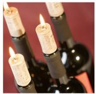 Sviečky vínovej zátky 4ks