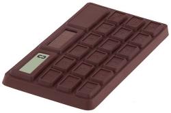 Ćokoládová kalkulačka