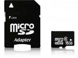 Micro SDHC karta s adaptérom - 16 GB