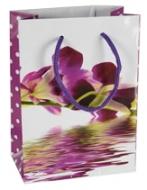 Darčeková taška - Orchidey tmavé