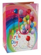 Darčeková taška - Happy birthday balóniky
