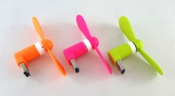 Vetráčik na USB / micro USB