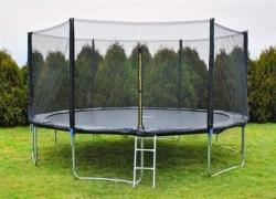 Trampolína 427 cm + Sieť + Rebrík