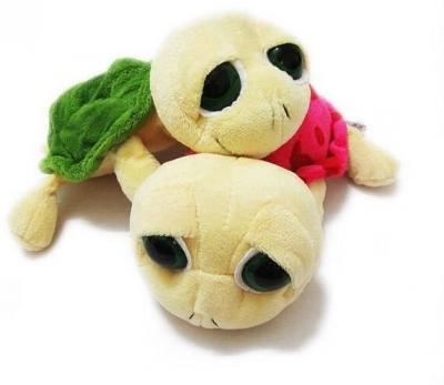 Roztomilá plyšová korytnačka s veľkými očami