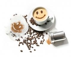 Šablóny na kávu 16 ks / sada sa zdobiacim sitkom