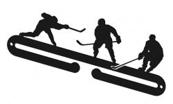 Vešiak na medaily pre hokejistov