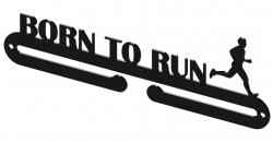 Vešiak na medaily - Born to run muž