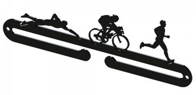 Vešiak na medaily - Triatlon
