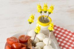 Vidličky včielky - sada 6ks