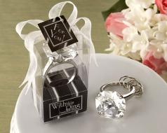 Přívěšek diamant - čirý