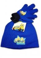 Detská čapica a rukavice Mimoni