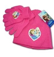 Detská čapica a rukavice Ľadové kráľovstvo