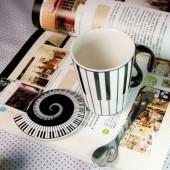 klavírový hrnček
