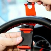 Držiak mobilu na volant auta