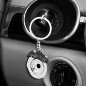 Prívesok na kľúče - brzdový kotúč