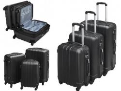 Trojdielna sada cestovných kufrov