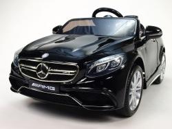 Detské el. autíčko licenčné Mercedes Benz S63 AMG s pružením oboch náprav