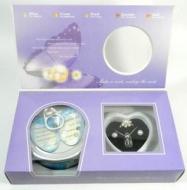 Darčekový set - perla s náhrdelníkom, prsteňom a náušničkami
