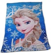 Detská deka Ľadové kráľovstvo Elsa