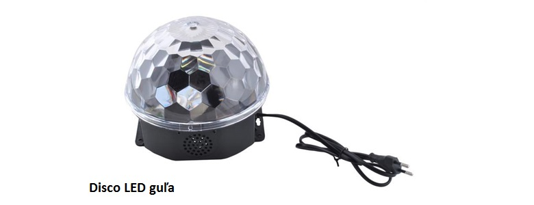 Disco LED guľa